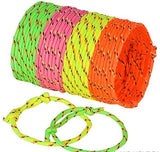 Best Friends Forever! Neon Rope Woven Friendship Bracelets Adjustable, 144 Bracelets in 4 Assorted Neon Colors Bulk Toys For Goody Bag Stuffers, Party Favors, Or Just Because For A Little Diva!