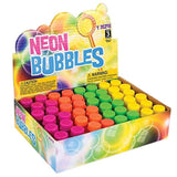 Bulk Pack of Neon Bubbles - Mini Bubble Bottles Bulk Pack of 48 Assorted Colors - Party Favors for Birthday Party, Goody Bag Fillers, Easter Egg Stuffers, Operation Christmas Child Toys by Neliblu