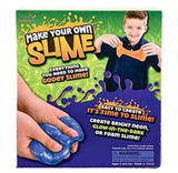 Neliblu DIY Fluffy Slime and Putty Lab Kit - for Girls and Boys - Kids Can Create Their Own Amazing Slime - Perfect Toy for Stocking Stuffer, and Birthday Party Gift