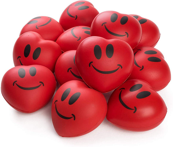 Neliblu Stress Balls - Red Hearts 3