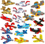 Foam Airplane Gliders Bulk Pack Of 72