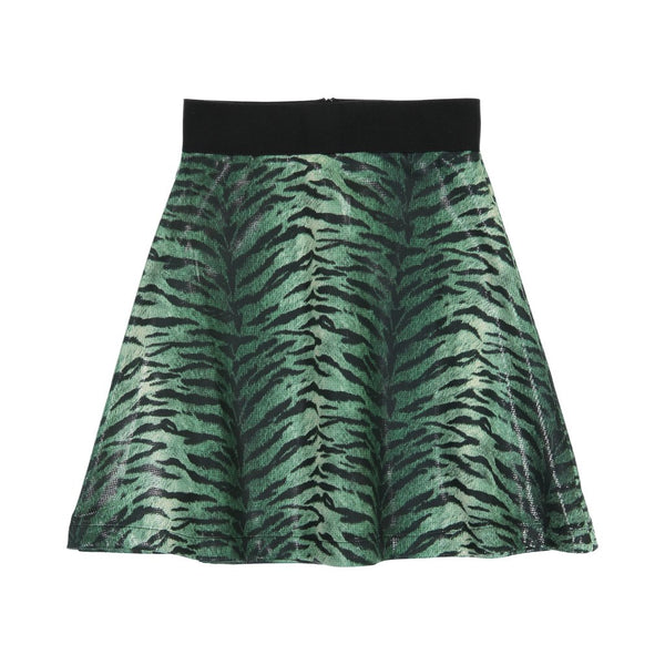 Three Bows Snake Skin Camp Skirt