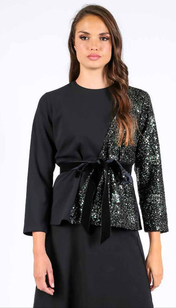 M.Miranda 21109A Sequins Top