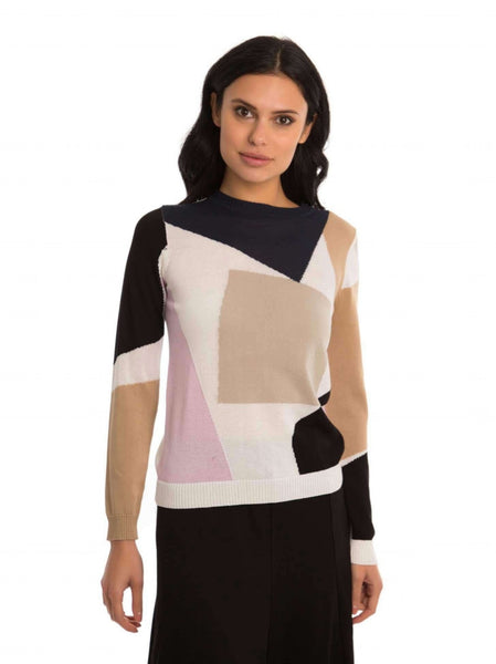 Chloe & Emma Color Block Top