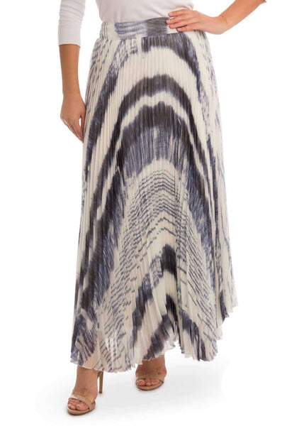 Paper Parachute Pleated Maxi Skirt