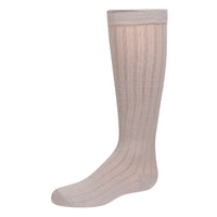 Zubii Texture Ribbed Knee Sock
