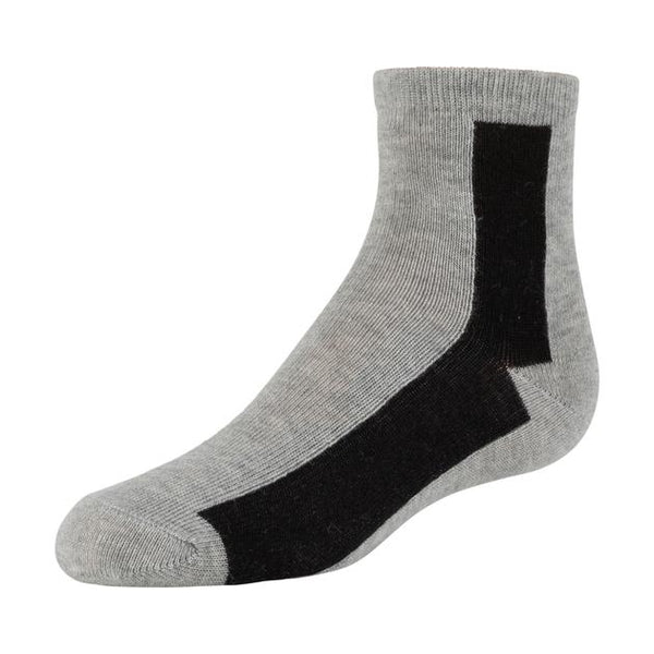 Zubii 712 Bar Pattern Ankle Sock