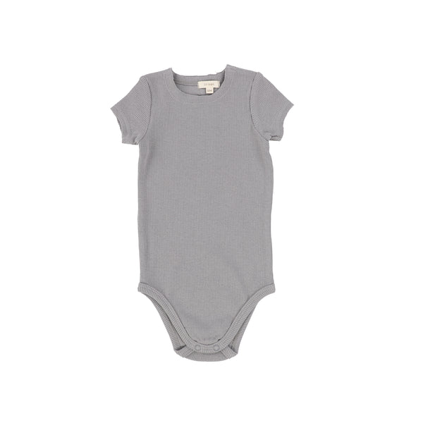 Lil Legs Ribbed SS Onesie