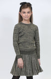 Fraze FA 2104-A Metallic Knit Skirt