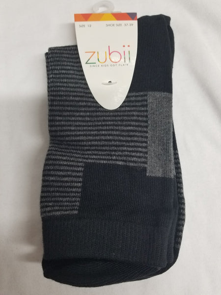 Zubii 256-8 Boys/Mens Mixed Pat Socks