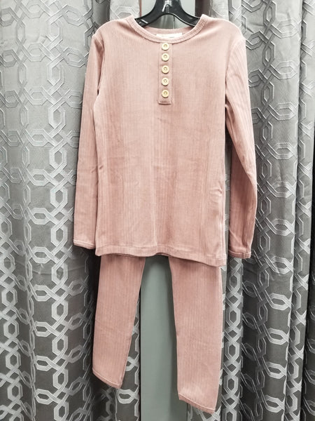 Fragile WB0CP4320 Velour Button PJs