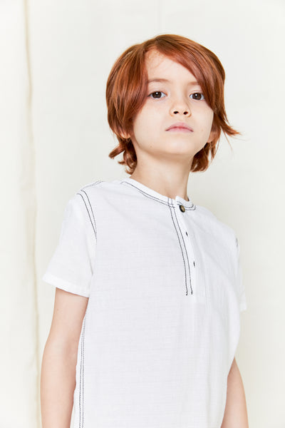 Klai Boy's Double Stitch Shirt