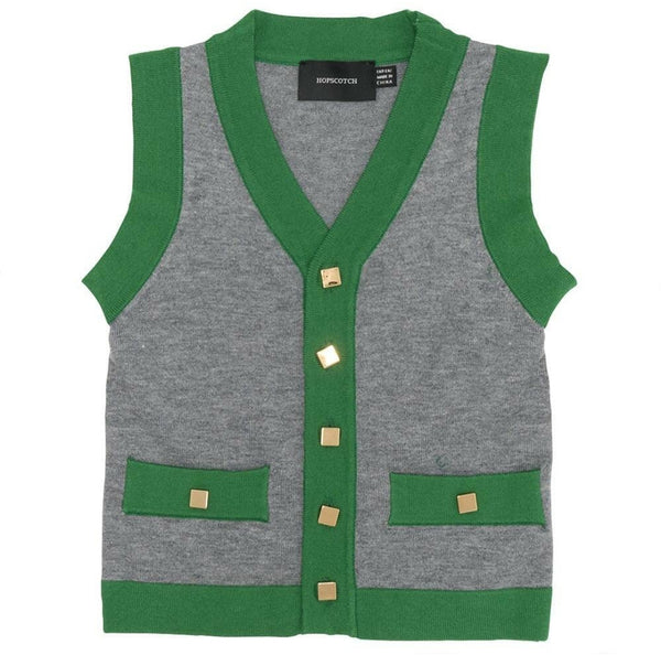 Hopscotch WB0CP4269 Boys Vest