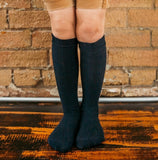 JRP Pointelle Knee Socks