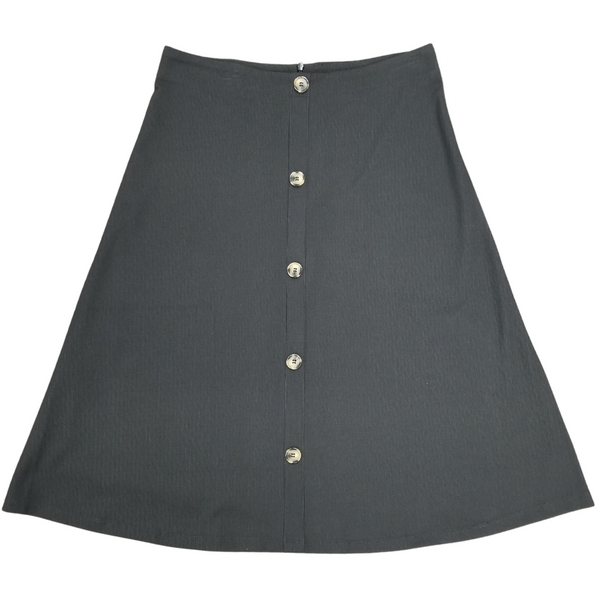 Wear & Flair SWF19117 Ribbed Skirt