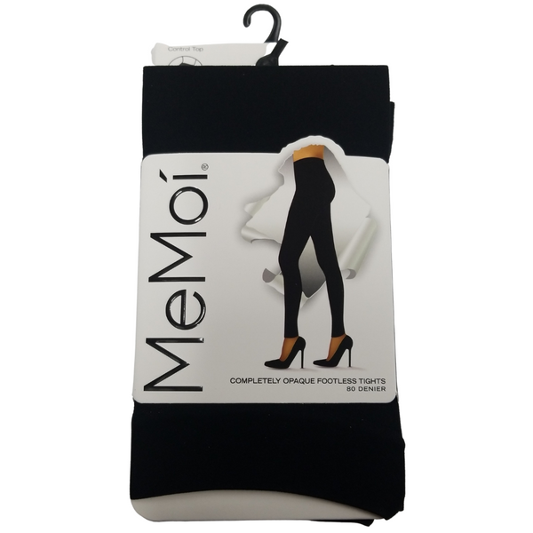 MeMoi Opaque Footless Tights MO-343