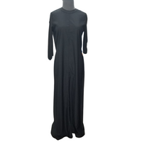 Fenucci Rib Sleeve Maxi Dress