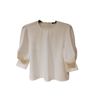 Ermanna Puff Sleeves Top