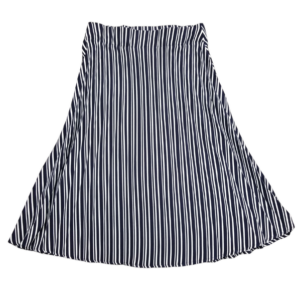 Class Accordian Pleat Stripe Skirt