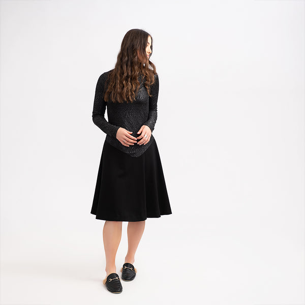Note W0PT5458 Teen Flare Dress