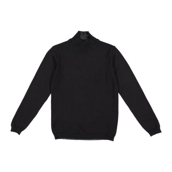 Three Bows Classic Turtleneck Sweater