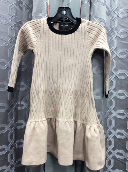 Hopscotch WB0CP4259 Big Rib Knit Dress
