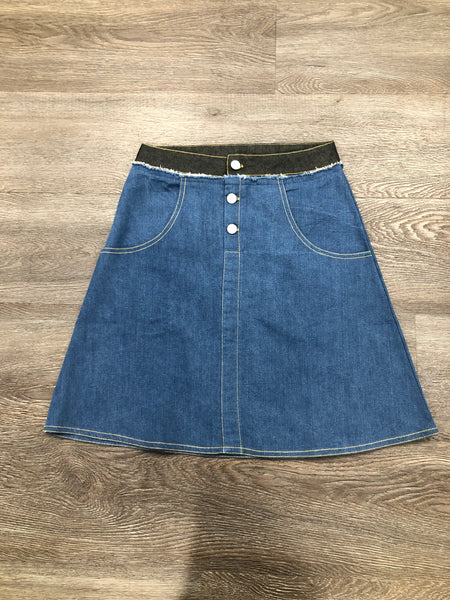 Crew AL1956 Double Waisted Skirt