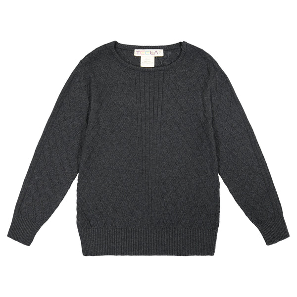 Teela 11-046 Boys Cable Knit Top