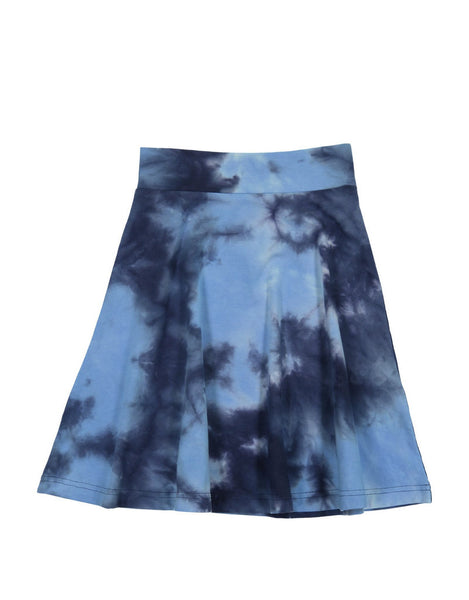 Three Bows Tie Dye Camp Skirt
