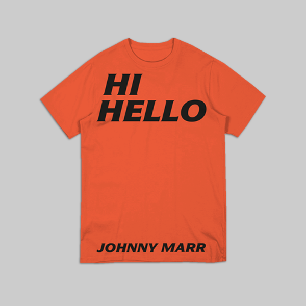 HI HELLO ORANGE TEE