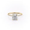 14k Yellow Gold Cushion Pave Kamellie, 3.75TCW  18k Yellow Gold Cushion Pave Kamellie, 3.75TCW