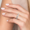 14k Rose Gold 4.8mm Single Prongs Lauren, Heart 18k Rose Gold 4.8mm Single Prongs Lauren, Heart