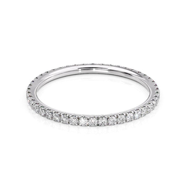 14k White Gold 1.5mm Pave Helen, Round 18k White Gold 1.5mm Pave Helen, Round