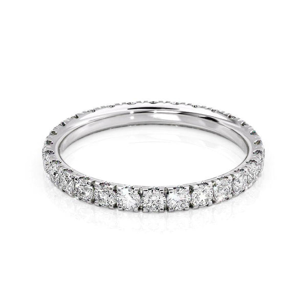 14k White Gold 2.3mm Pave Helen, Round 18k White Gold 2.3mm Pave Helen, Round