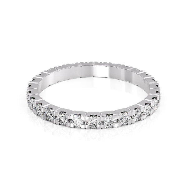 14k White Gold 2.3mm Pave Dianne, Round 18k White Gold 2.3mm Pave Dianne, Round