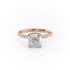 14k Rose Gold Cushion Pave Alex, 1.44TCW  18k Rose Gold Cushion Pave Alex, 1.44TCW