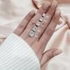 14k White Gold Elongated Cushion Pave Miley, 1.57TCW 18k White Gold Elongated Cushion Pave Miley, 1.57TCW 14k Yellow Gold Elongated Cushion Pave Miley, 1.57TCW 18k Yellow Gold Elongated Cushion Pave Miley, 1.57TCW 14k Rose Gold Elongated Cushion Pave Miley, 1.57TCW 18k Rose Gold Elongated Cushion Pave Miley, 1.57TCW