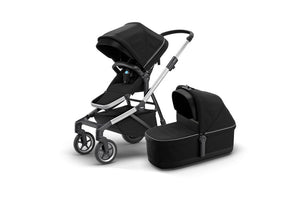 Thule Sleek | Midnight Black (with Bassinet)