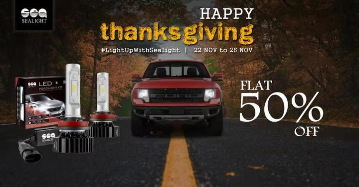 This Thanksgiving, Light Up With SEALIGHT!
