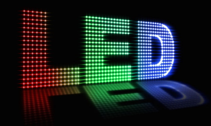 What are LEDs made up of?