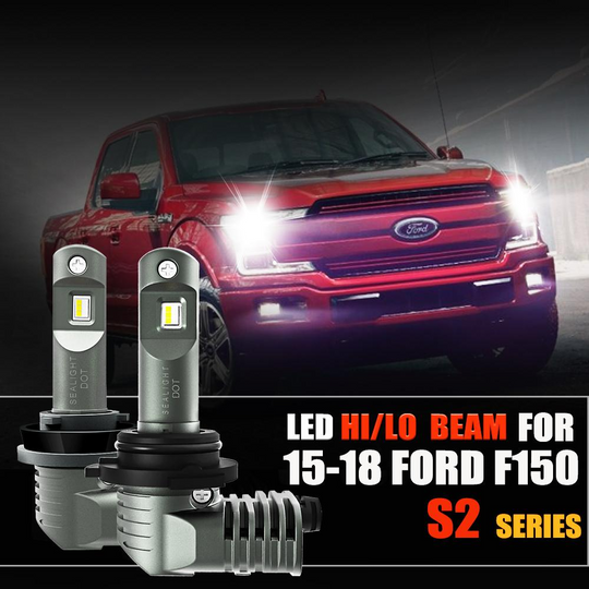 2015 - 2018 Ford F150 LED Headlight Bulbs Kit