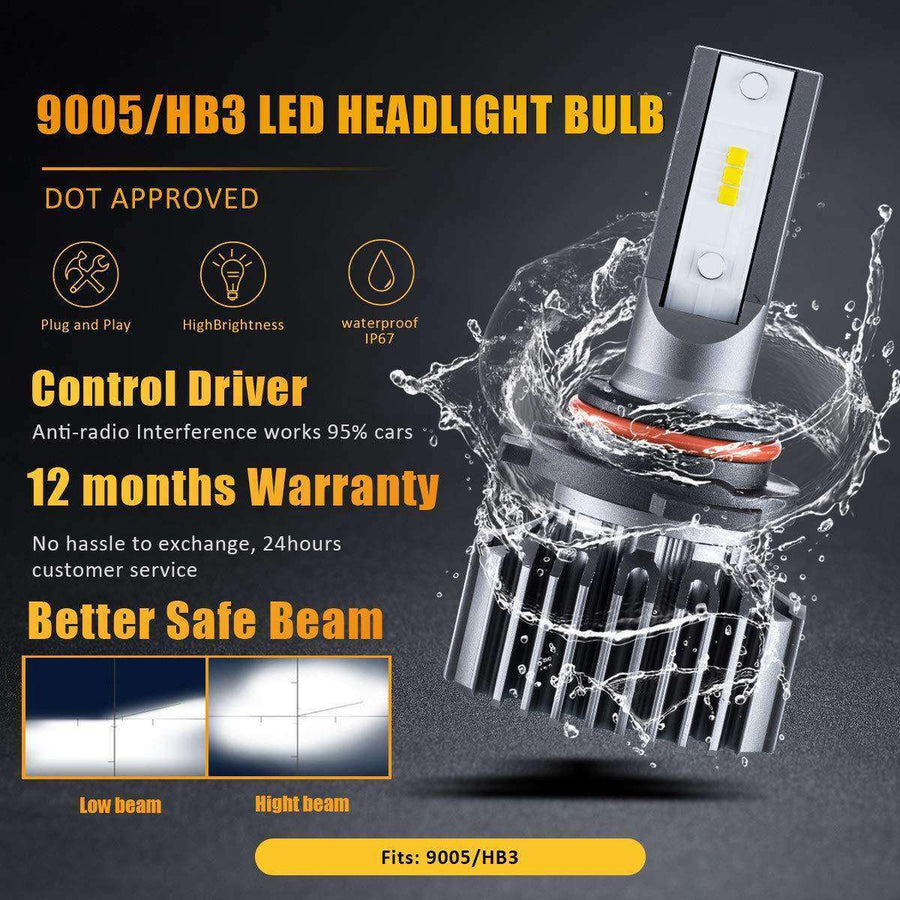 SEALIGHT led bulbs for car