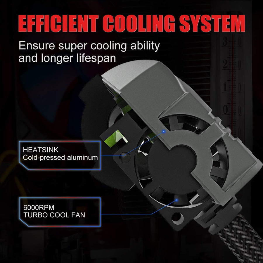 SEALIGHT led effective cooling system