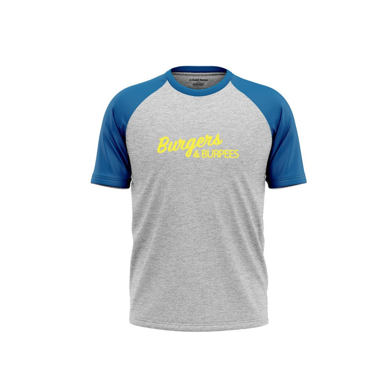 T-SHIRT HOMME - BURGERS & BURPEES