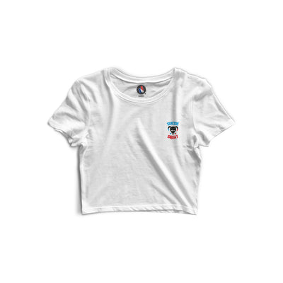 "Crop top ""Suicide Squat"" - Coton Bio & Made In France"