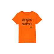 T-SHIRT KIDS - BURGERS ET BURPEES