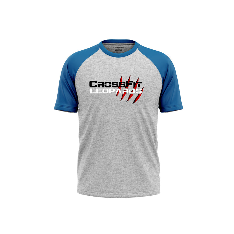 T-SHIRT HOMME BICOLORE - CROSSFIT® LEOPARDS