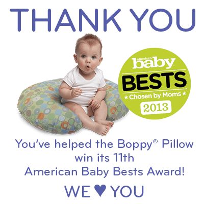 Boppy Pillow Wins 11th American Baby Bests Award