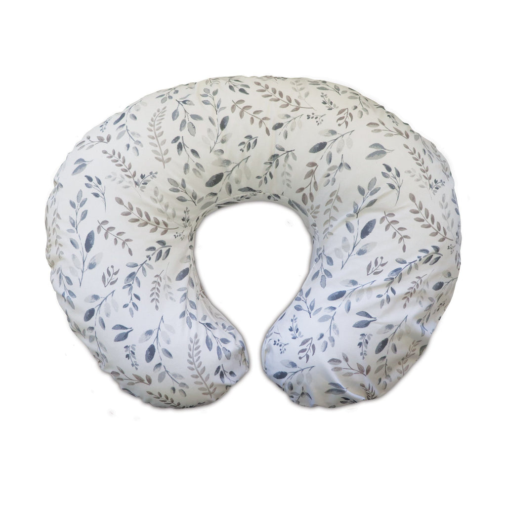 Boppy® Original Feeding & Infant Support Pillow - Gray Taupe Leaves