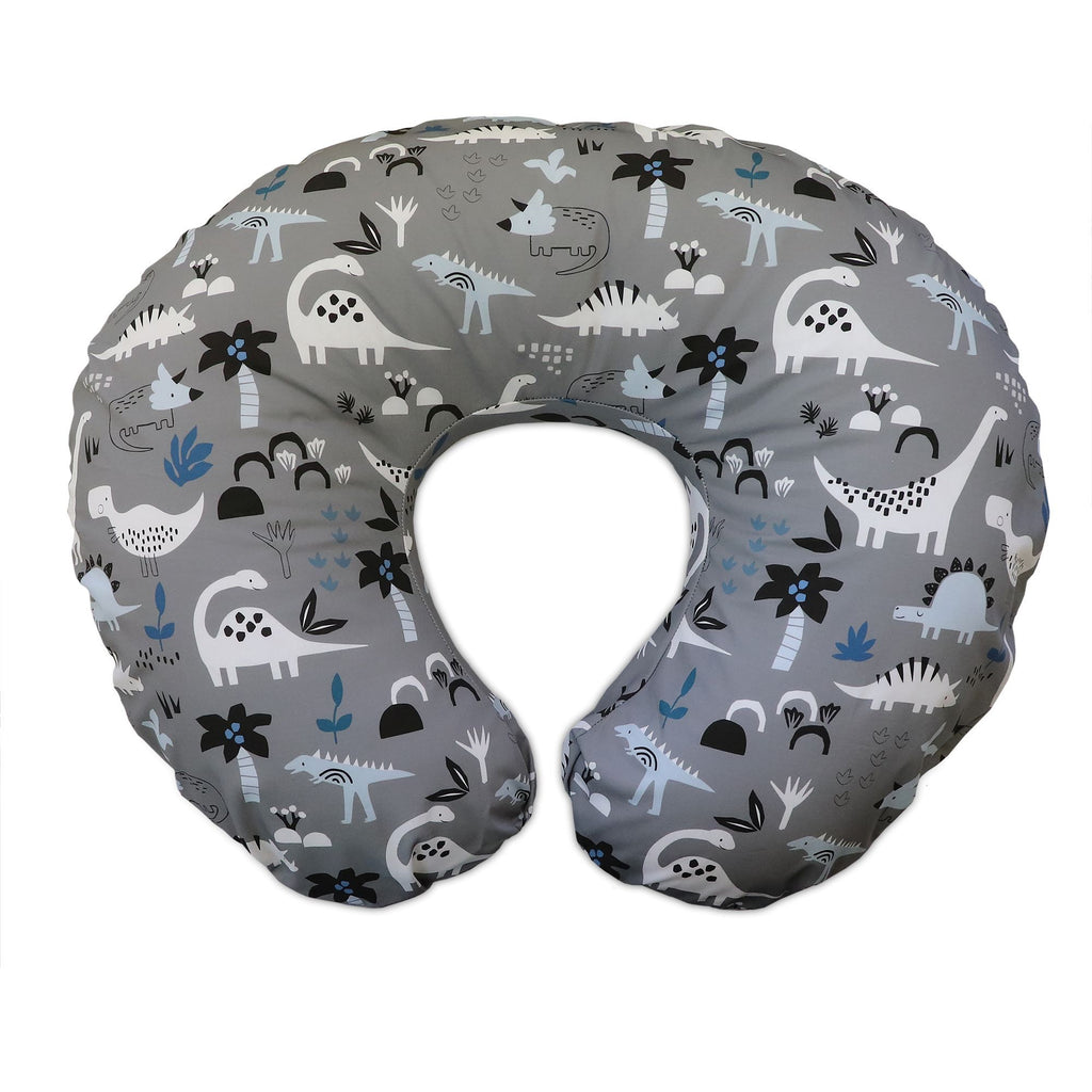 Boppy® Original Feeding & Infant Support Pillow - Gray Dinosaurs